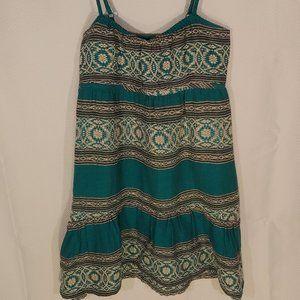 🎃 Billabong baha spaghetti strap summer dress S